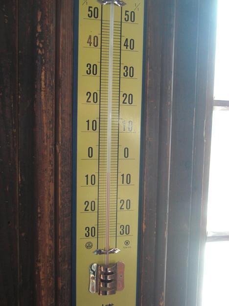 気温-5℃