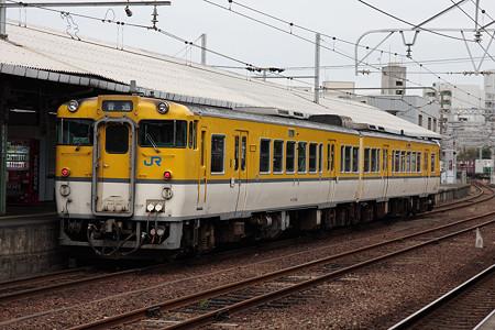 山陽本線下関駅(キハ47)