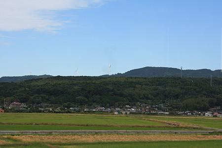 風力発電のプロペラ