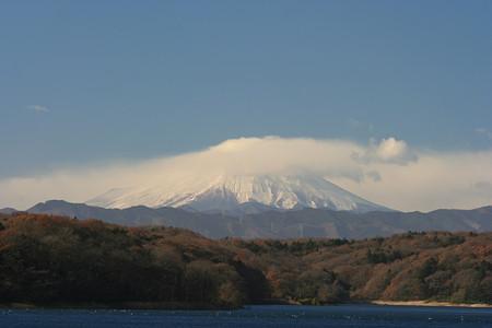 富士山(狭山湖より)