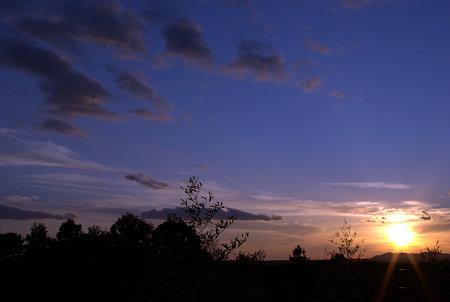 鳥羽の夕暮れ(Picasaで補正)