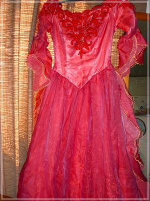 メリーウイドウ衣装