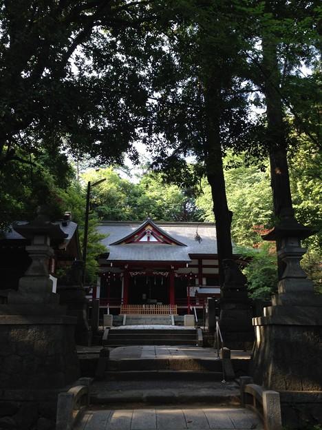 菅田天神社(甲州市塩山上於曽)