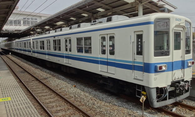 東武アーバンパークライン8000系(皐月賞当日)