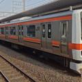 JR東日本千葉支社 武蔵野線209系500番台(日本ダービー前日の朝)