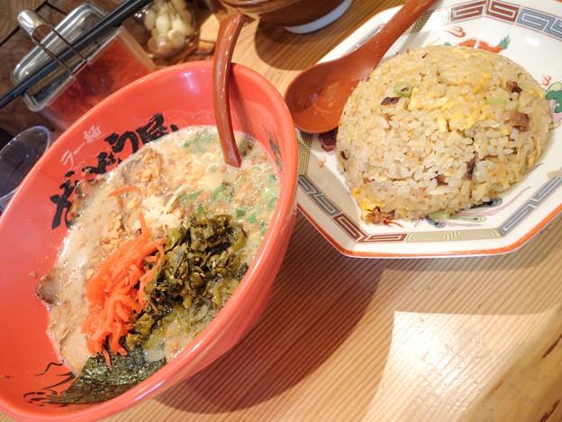 叉焼麺餃子セット