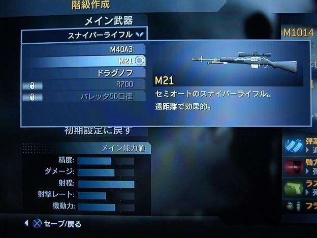 スナイパーライフル-M21