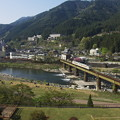 Photos: 飛騨川渡る
