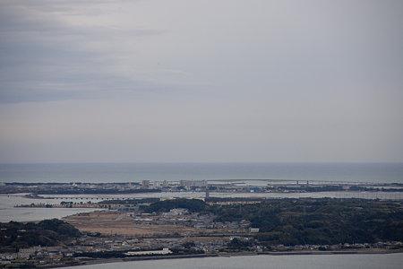 奥浜名湖展望台からオフ会場を一望