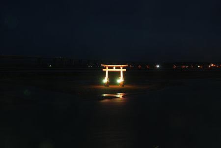 ホテルの窓から(夜)
