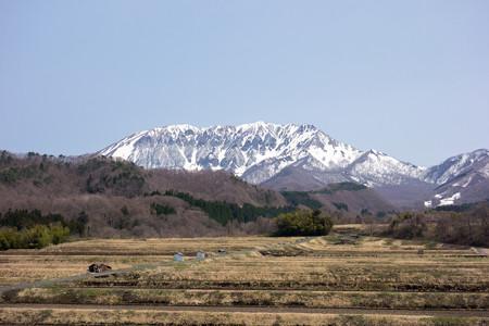 鳥取県道315号線からの大山