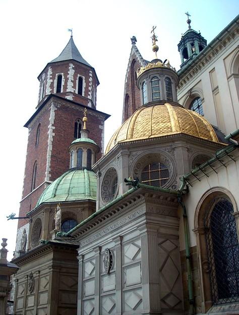 クラクフ:ヴァヴェル城_ジグムント礼拝堂