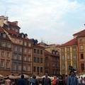 写真: ワルシャワ:世界遺産 旧市街市場広場