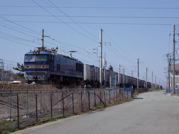EF510‐508牽引 4096レ