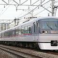 写真: 西武10000系 ニューレッドアロー 特急小江戸(西武新宿線)(2009年2月撮影)