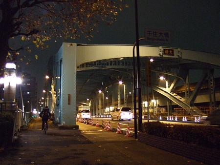 夜の千住大橋(2007/12)