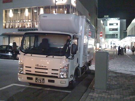 2008年9月11日小田急線鶴川駅前