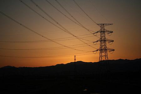 来年は良い年でありますように。2008年最後の夕陽