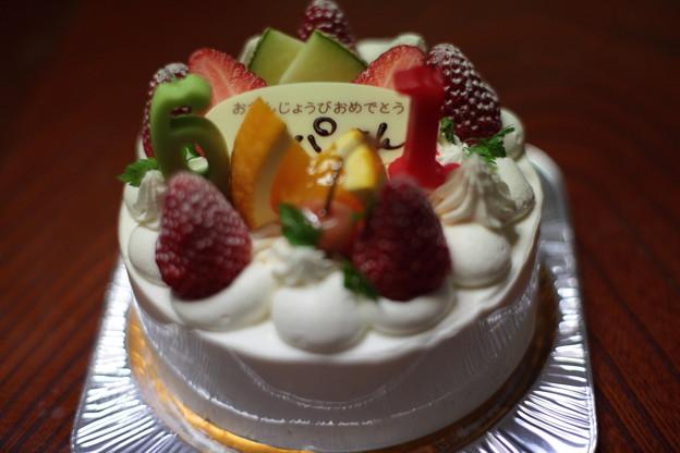 バースデイケーキ 消灯