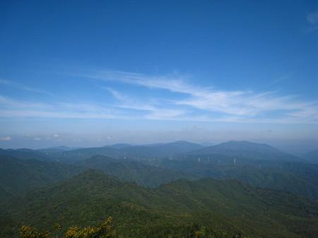 吉和冠山山頂からの景色