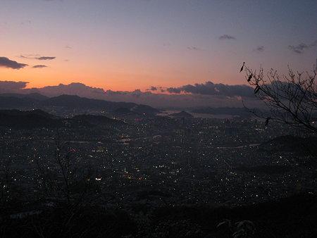 夜明け前の広島湾2