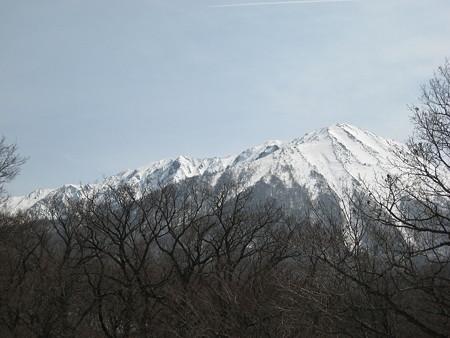 帰途に見た大山
