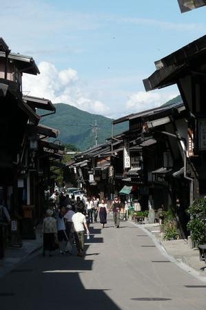 奈良井の街並み 01