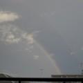 写真: 2重の虹
