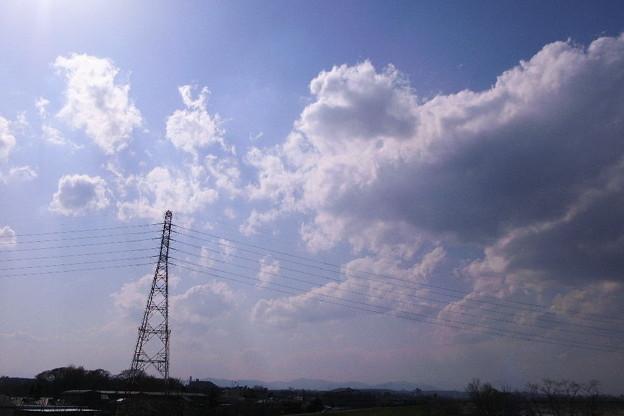 鉄塔雲景 - 写真共有サイト「フォト蔵」