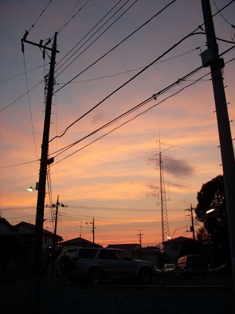 町田市鶴川夕暮れ
